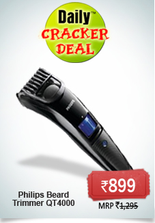 shopclues rs 943 for philips beard trimmer qt4000 online shopping deals forum best deals. Black Bedroom Furniture Sets. Home Design Ideas