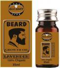Alcamy Beard Growth Hair Oil ( Lavender ) Hair Oil  (35 ml)