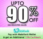 Upto 90% Off on selected sales