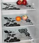 Home Creations PVC Classic Refrigerator & Drawer Mat Set of 3 -Designs and color may vary (Free 3 Coasters)