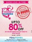 Upto 80% off + 24hrs dispatch