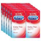 Durex Condoms, Extra Thin- 10s (Pack of 10)
