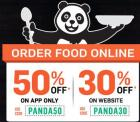 Order Food to get 50% off  on APP ( 30% off on Website)