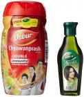 Dabur Chyawanprash - 500 g with Free Amla Hair Oil - 45 ml Worth Rupees 20