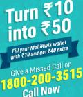 Rs. 40 Cashback on adding Rs. 10 in Wallet