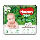 Huggies Nature Care Pants, Small Size Diaper Pants, 28 Count