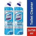 Domex Fresh Guard Ocean Fresh Disinfectant Toilet Cleaner, 750 ml (Pack of 2)