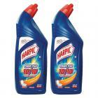 Harpic Powerplus Toilet Cleaner - 1000 ml (Pack of 2, Orange)