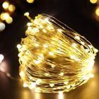Homesake 50-LED Fairy Copper String Diwali Lights