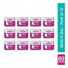 VWash Wow Sanitary Napkin Maxi R 5s (Pack of 12)