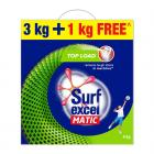 Surf Excel Matic Top Load Detergent Powder, 3 Kg + 1 kg Free