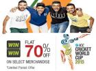 ICC Cricket World Cup 2015 Merchandise Flat 70% off
