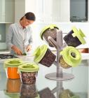 Marvel Pop up 6 Pcs Spice Rack With Tree Stand