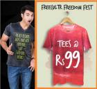 Freedom Sale Tshirts @ Rs 99 Only