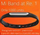 Mi Band at Rs. 1