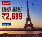 International fares starting Rs.2,699
