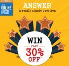 Win Flat 30% Off coupon