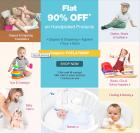 Flat 90% Off on Babys & Kids Products