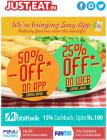 50% off on App in January whole month