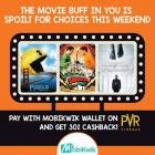 Pay with MobiKwik Wallet on PVR & get 30% Cashback