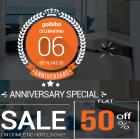 Get Flat 50% Off On Domestic Hote