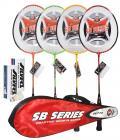 Silver SB 719 Badminton Combo (7 Pieces)