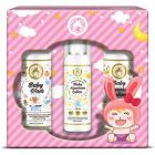 Mom & World Baby Girl Kit - Wash + Baby Sunscreen Lotion + Baby Nourishing Lotion by Mom & World