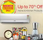 Up To 70% Off On Home & Kitchen Products