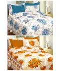 Curl Up - Pack of 2 - Double Cotton Abstract Bed Sheet