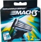 Gillette Mach3 Refill - 12 Catridges