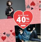 Minimum 40% Off Across All Brands + Extra 30% Cashback With Paytm Wallet