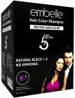 Embelle Instant hair color - 25ml (Pack of 10)
