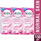 Veet Silk and Fresh Hair Removal Cream - 50 g (Normal Skin, Buy 2 Get 1 Free)
