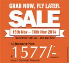 Air India Grab now,Fly later sale