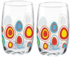 Treo D Ziner Lyon Glass Set  (Glass, 265 ml, Clear, Pack of 2)