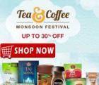 Monsoon Festival:-Tea & Coffee Upto 30 % Off