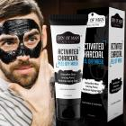 Den of Man® Detoxifying Activated Charcoal Peel Off Mask   60GM