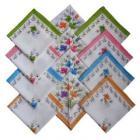 Kids 100% Cotton Handkerchiefs for Multipurpose use - Set of 12