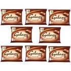 Galaxy Smooth Milk Chocolate (Combo of 8)