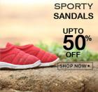 Sporty Sandals Upto 50% Off