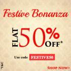 Bata Footwear @ Flat 50% Off