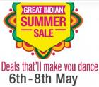 Great indian summer sale from 6th - 8th may