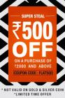 Flat Rs. 500 off on Rs. 2000 & More