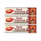 DABUR Dant Rakshak Ayurvedic Paste -175 g (Pack of 3)