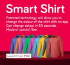 Smart Shirt That Changes Into 10 Colors