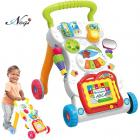 Negi Children Musical Walker, Push & Pull Toy for Toddlers & Kids, Baby Activity Walker Toy Comes with Two Patterns : Sit and Play, Stand and Walk.(Children Music Walker)
