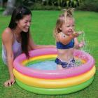 Intex Baby Pool 3-Ring Sunset Glow, Multicolor