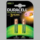 Duracell Recharge Plus AAA – 750 mAh Batteries -Pack of 2