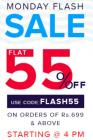 Flat 55% off on Rs. 699