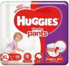 Huggies Wonder Pants Diapers, Extra Large (56 Count)